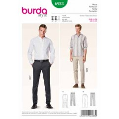 BURDA - 6933 Mens Pants