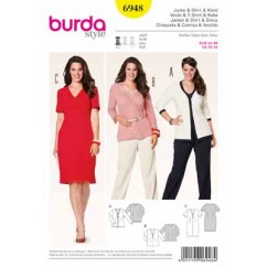 BURDA - 6948 Ladies Jacket/Dress