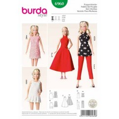 BURDA - 6960 Accessory Doll Clothes