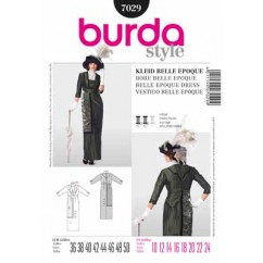 BURDA - 7029 Costume Ladies-Historical