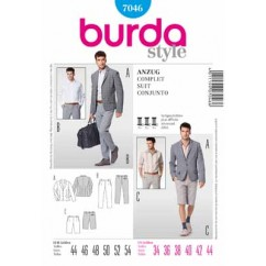 BURDA - 7046 Mens Suit