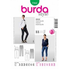 BURDA - 7165 Ladies Pants