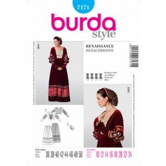 BURDA - 7171 Costume Ladies-Historical