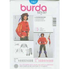 BURDA - 7467 Costume Mens Historical