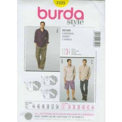 BURDA - 7525 Mens Shirt