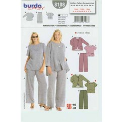 BURDA - 8108 Ladies Coordinates