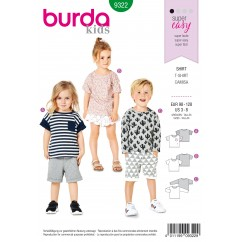 BURDA - 9322 Top – Sleeve Variations