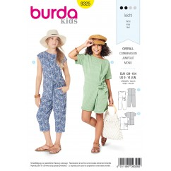 BURDA - 9325 Overalls in Two Lengths