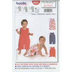 BURDA - 9652 Child Jumpsuit