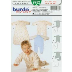 BURDA - 9782 Accessory Sleeping bag