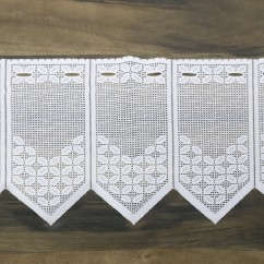 Home Decor Fabric - Café lace - Andrea White