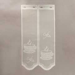 Home Decor Fabric - Café lace - Bistro Natural