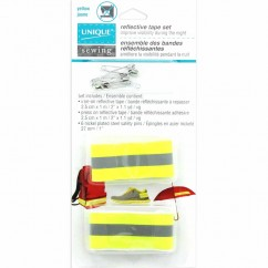 UNIQUE SEWING Reflective Tape Set - Yellow/Grey