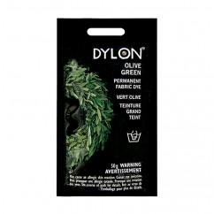DYLON Permanent Fabric Dye - Olive Green