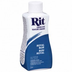 RIT All Purpose Liquid Dye - Royal Blue - 236 ml (8 oz)