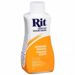 RIT All Purpose Liquid Dye - Sunshine Orange - 236 ml (8 oz)