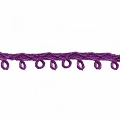 CREATIV DÉCOR Picot Trim 6mm - Purple