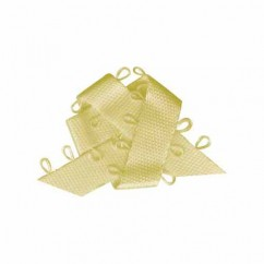 ELAN Picot Trim Ribbon 9mm x 5m - Baby Yellow