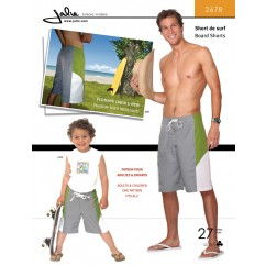 Jalie Pattern 2678 - Men's board shorts