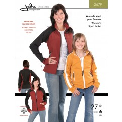 Jalie Pattern 2679 - Women's sport jacket (softshell)