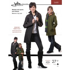 Jalie Pattern 2680 - Women's city coat