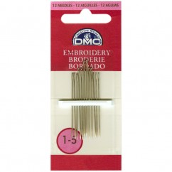 DMC #1765/1 - Embroidery Needles Size 1/5