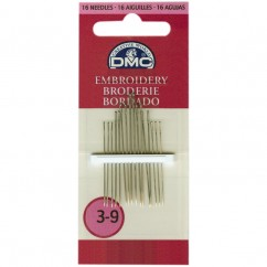 DMC #1765/2 - Embroidery Needles Size 3/9