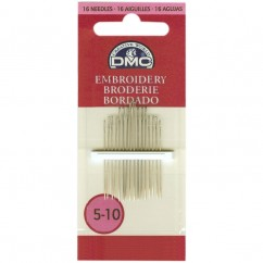 DMC #1765/3 - Embroidery Needles Size 5/10