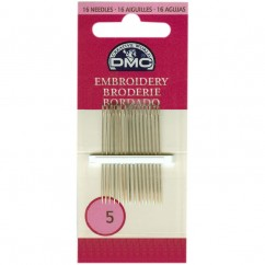 DMC #1765/4 - Embroidery Needles Size 5