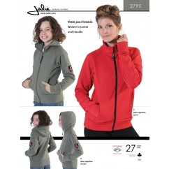 Jalie Pattern 2795 - Women's jacket and hoodie