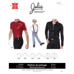 Jalie Pattern 2802 - Men's skating bodyshirts