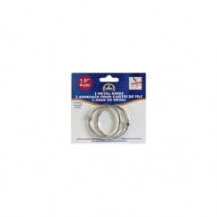 "DMC #6109 - 1 1/2"" Metal Craft Rings - 2 Pack"