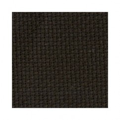 "DMC CHARLES CRAFT #GD1436BX - 14 Count Gold Standard Aida - 15"" x 18"" -  Black"