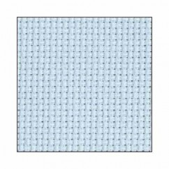 "DMC CHARLES CRAFT #GD1436BX - 14 Count Gold Standard Aida - 15"" x 18"" -  Light Blue"