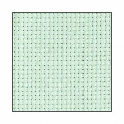 "DMC CHARLES CRAFT #GD1436BX - 14 Count Gold Standard Aida - 15"" x 18"" -  Light Seafoam Green"