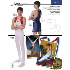 Jalie Pattern 2914 - Men's gymnastics pants and shorts