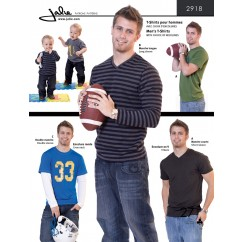 Jalie Pattern 2918 - Men's t-shirts