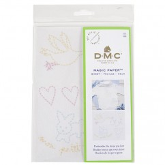 DMC Baby Collection Embroidery Magic Paper™