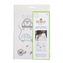 DMC Cars Collection Embroidery Magic Paper™