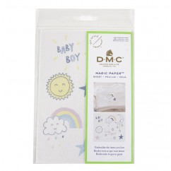 DMC Baby, Stars and Moon Collection Embroidery Magic Paper™