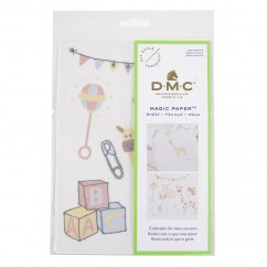 DMC Baby Animals Collection Embroidery Magic Paper™