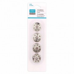 UNIQUE SEWING 7-Hole Metal Bobbins - Bernina Machine - 4pcs
