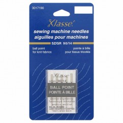 KLASSE´ Ball Point Needles Carded - Size 90/14 - 5 count