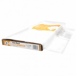 """HEATNBOND Soft Stretch™ Lite Sewable Iron-On Adhesive - width 43cm (17"""") Sold by the meter"""