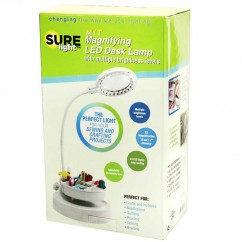SURELight M1T Magnifying LED Desk Lamp