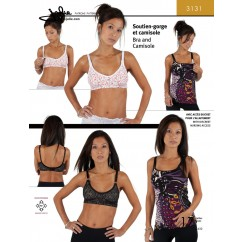 Jalie Pattern 3131 - Bra and camisole