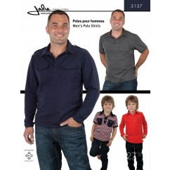 Jalie Pattern 3137 - Men's polo shirts