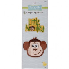Appliques - Monkey & Little Monkey