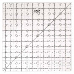 """OLFA QR-12S - 12½"""" Square Frosted Acrylic Ruler"""