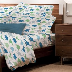 Dinosaurs - Juvenile sheet set - White
